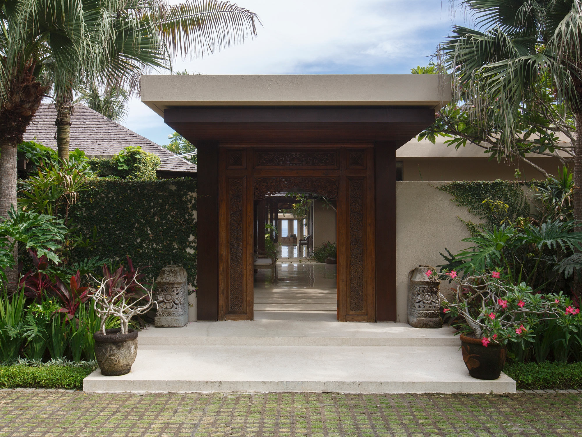 Villa Ambar entrance