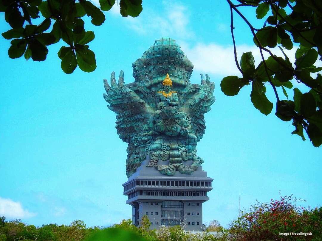 Garuda Wisnu Kencana Statue Uluwatu Bali - A visit to Garuda Wisnu Kencana Cultural Park